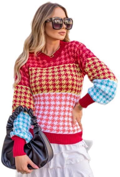 Blusa de Frio em Tricot