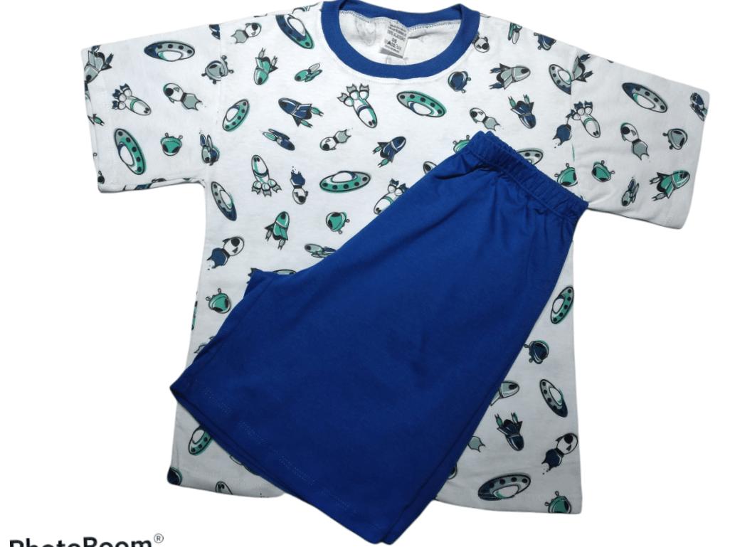 Pijama menino primavera verão