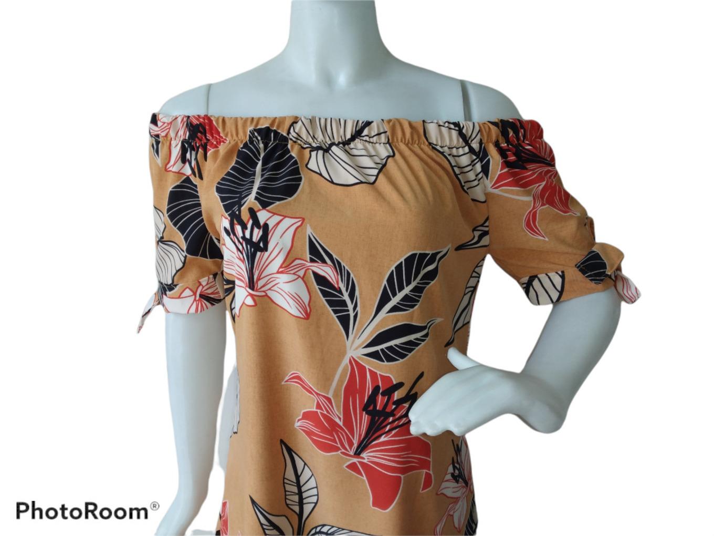 Vestido Ciganinha  Estampa Floral