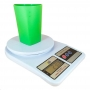 Balança De Cozinha Digital Alta Precisão Até 10kg Alimento