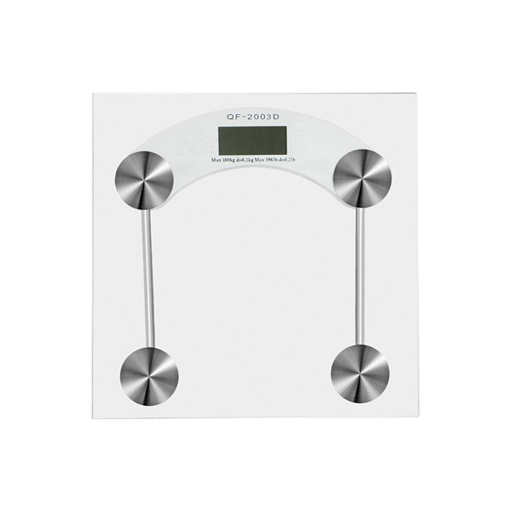 Balança Corporal Digital Banheiro Vidro Temperado Até 180kg