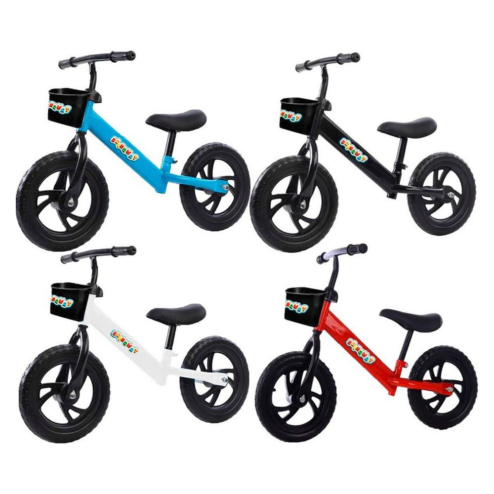 Bicicleta Bike De Equilíbrio Infantil Sem Pedal