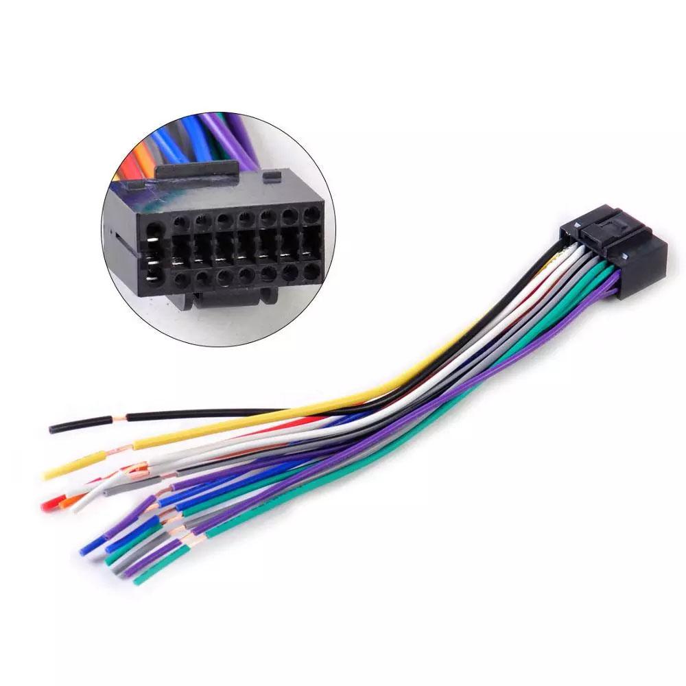 Chicote Conector Plug Permak Para Rádio Kenwood