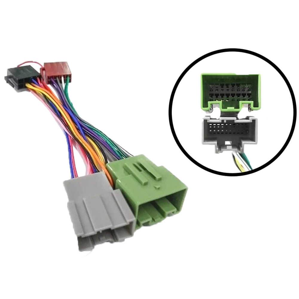 Chicote Plug Conector Som Gm Onix/cobalt 2018/19