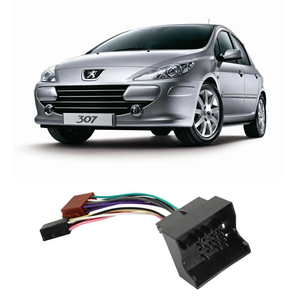 Conector Adaptador Chicote Peugeot 307 Citroen Vw Cd Dvd