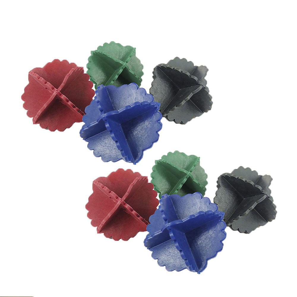 Esferas Bolinhas Bate Roupas Para Máquina De Lavar 8 Peças