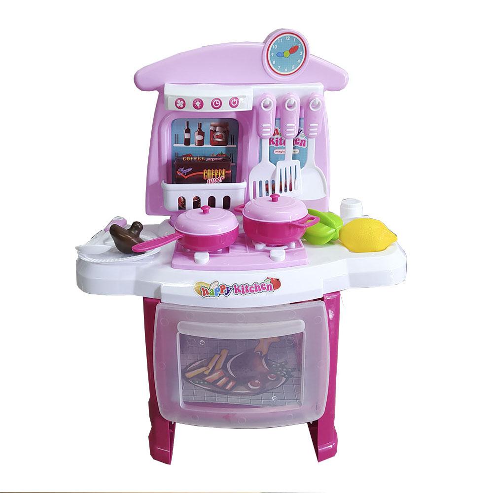 Kit Forno Cozinha Infantil 29 Pçs Fogão Pia Completo Inmetro