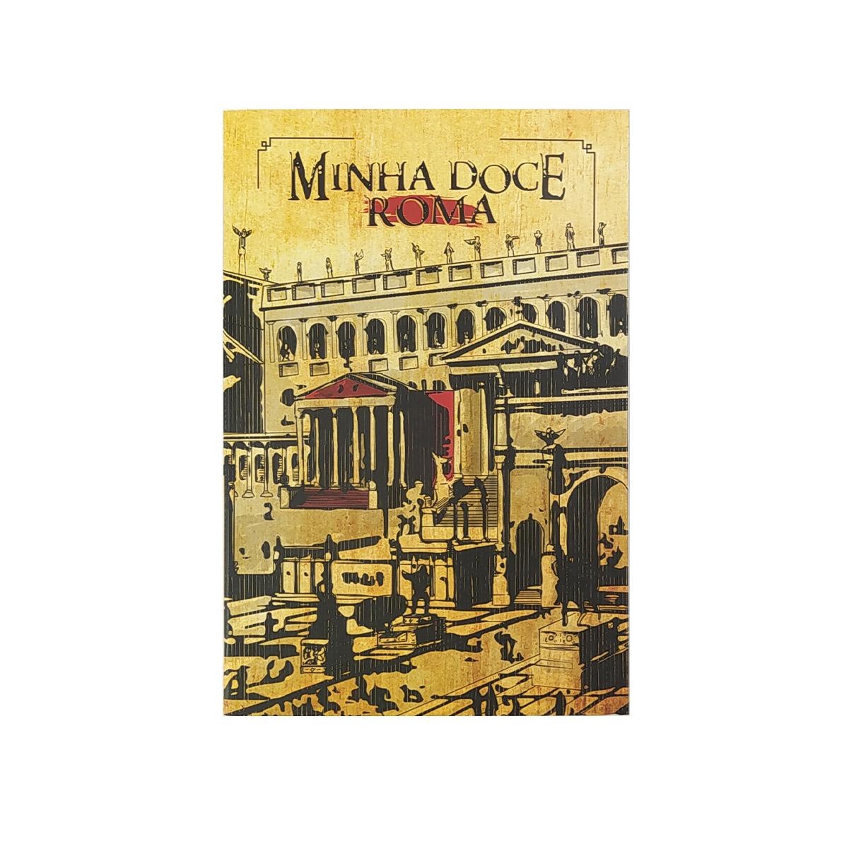 Livro Minha Doce Roma - Marcelo Campos - Editora IDHEV