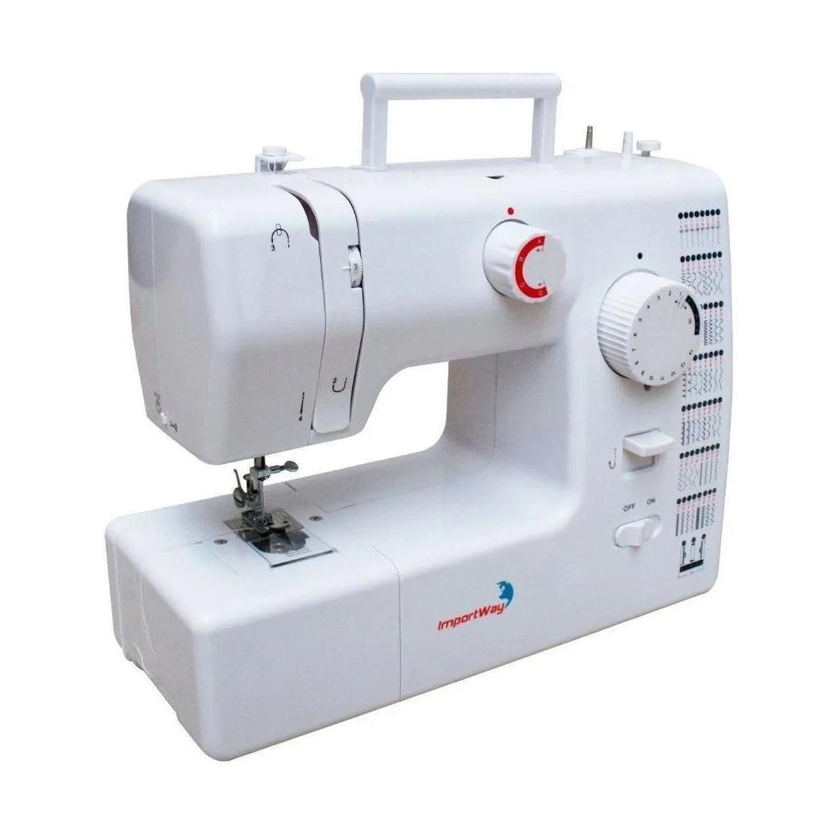 Maquina De Costura 59 Pontos Portátil 127V/220V Importway