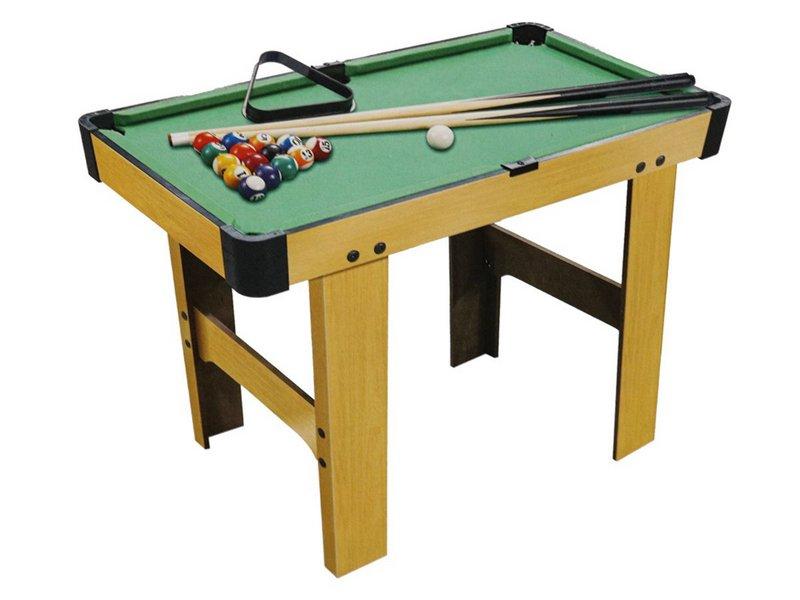 Mini Mesa De Sinuca Bilhar Snooker Portátil 69x37x64