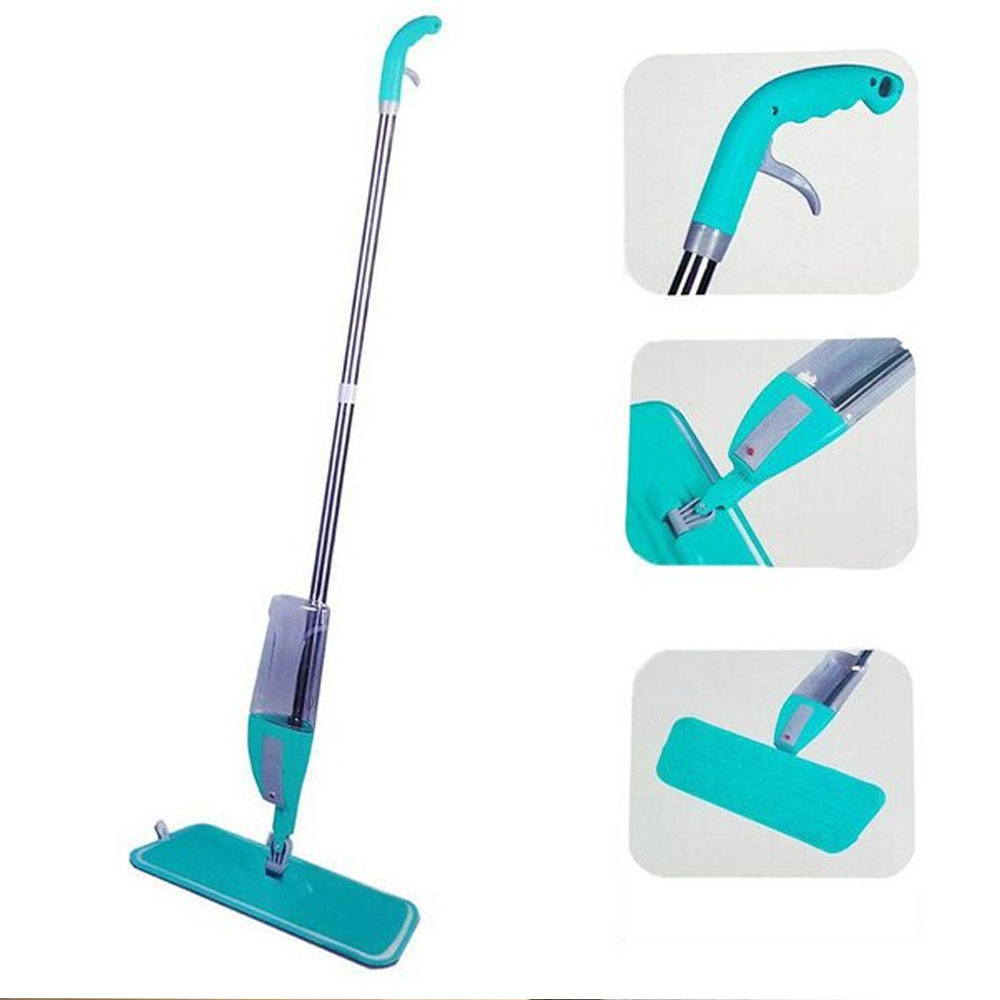 Mop Spray Com Reservatório Refil Microfibra Lavável