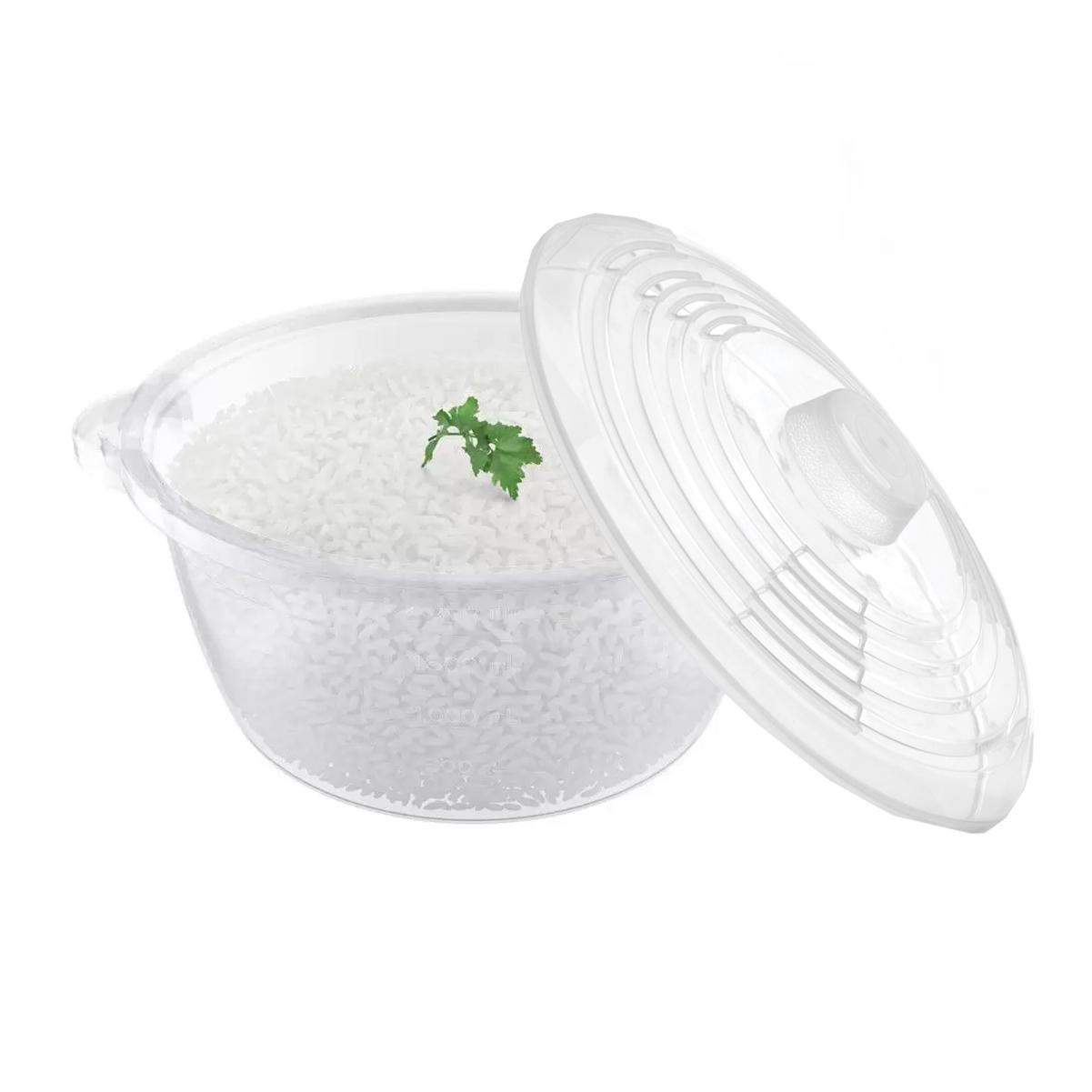Panela Para Micro-Ondas À Vapor Para Cozinhar Aquecer 2,6 L