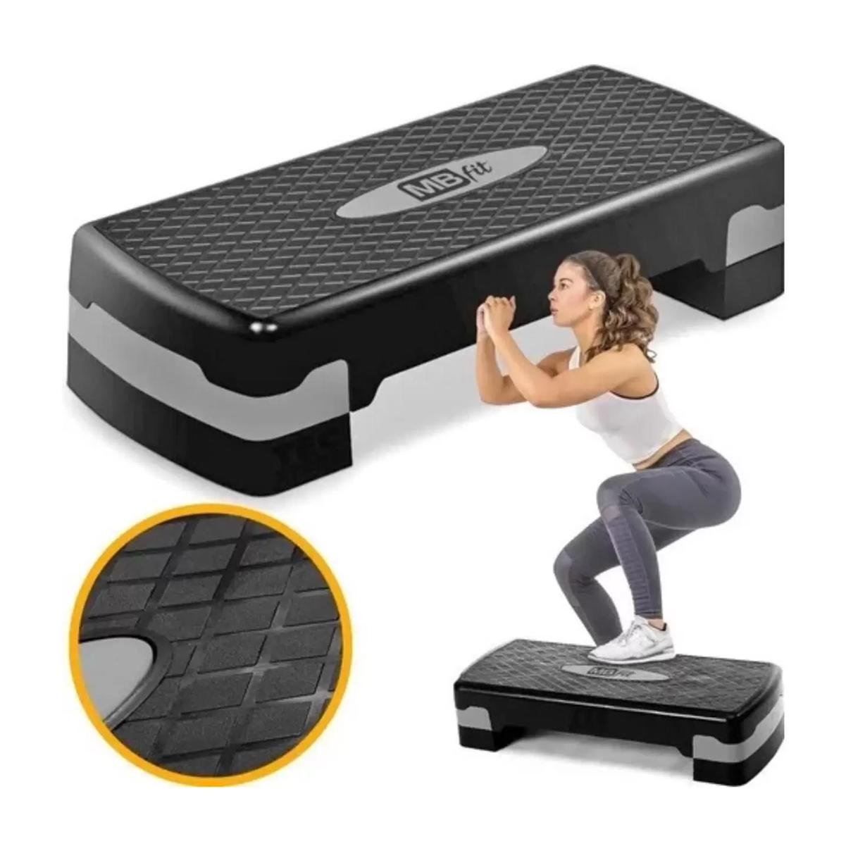Step Academia Exercícios Funcional Ajustável Treino Fitness