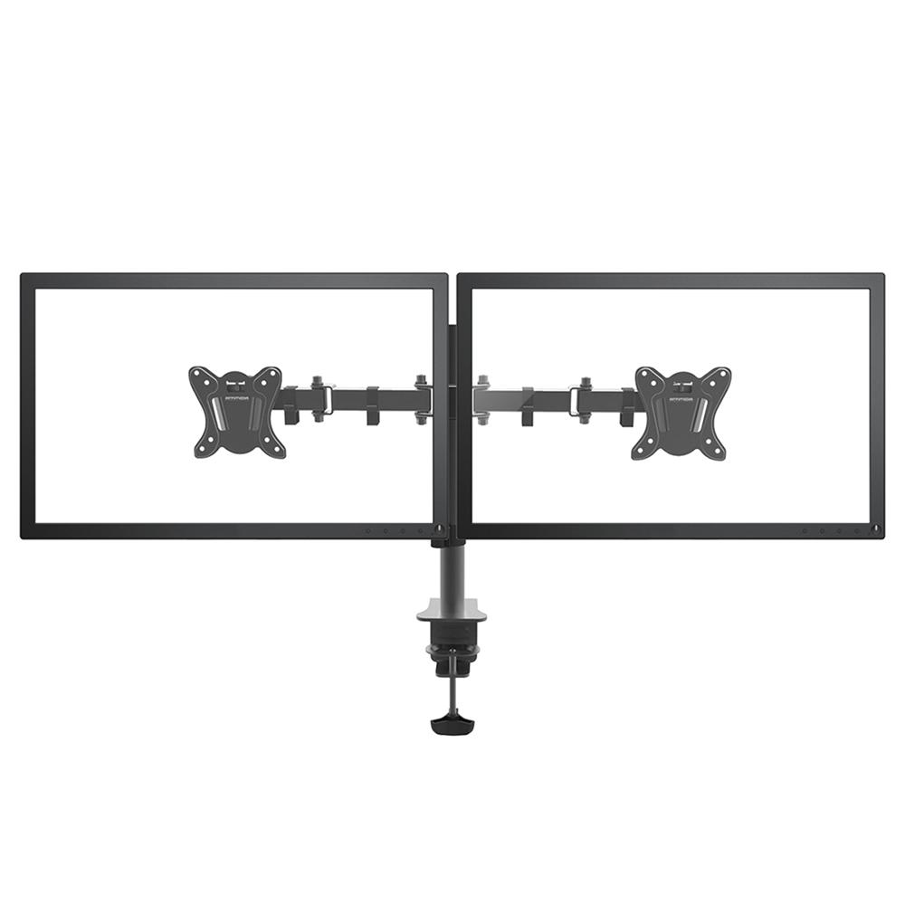 Suporte Duplo De Mesa P/ Monitor Articulado 15 A 32  20kg