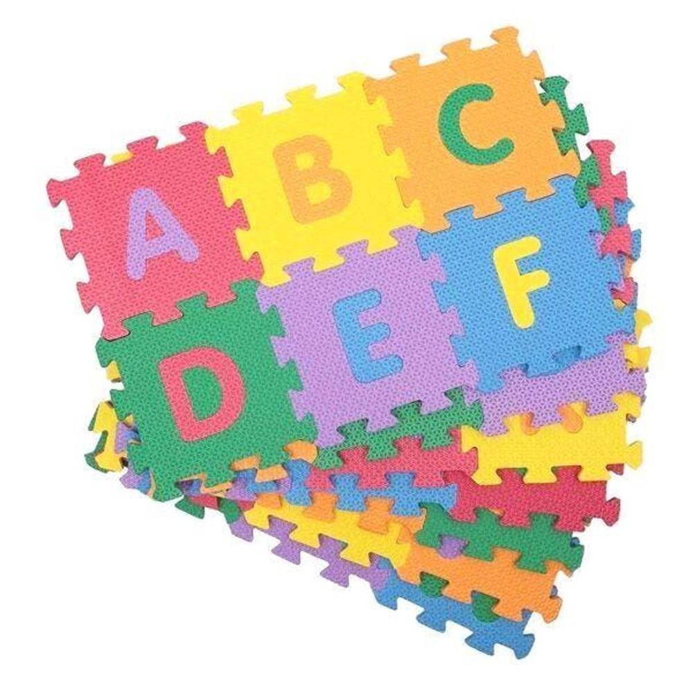 Tapete Atividades Tatame Infantil Educativo Alfabeto 26 Pçs