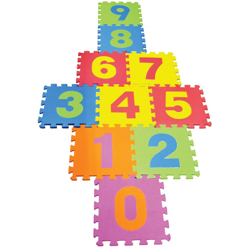 Tapete Atividades Tatame Infantil Educativo Numérico 10 pçs