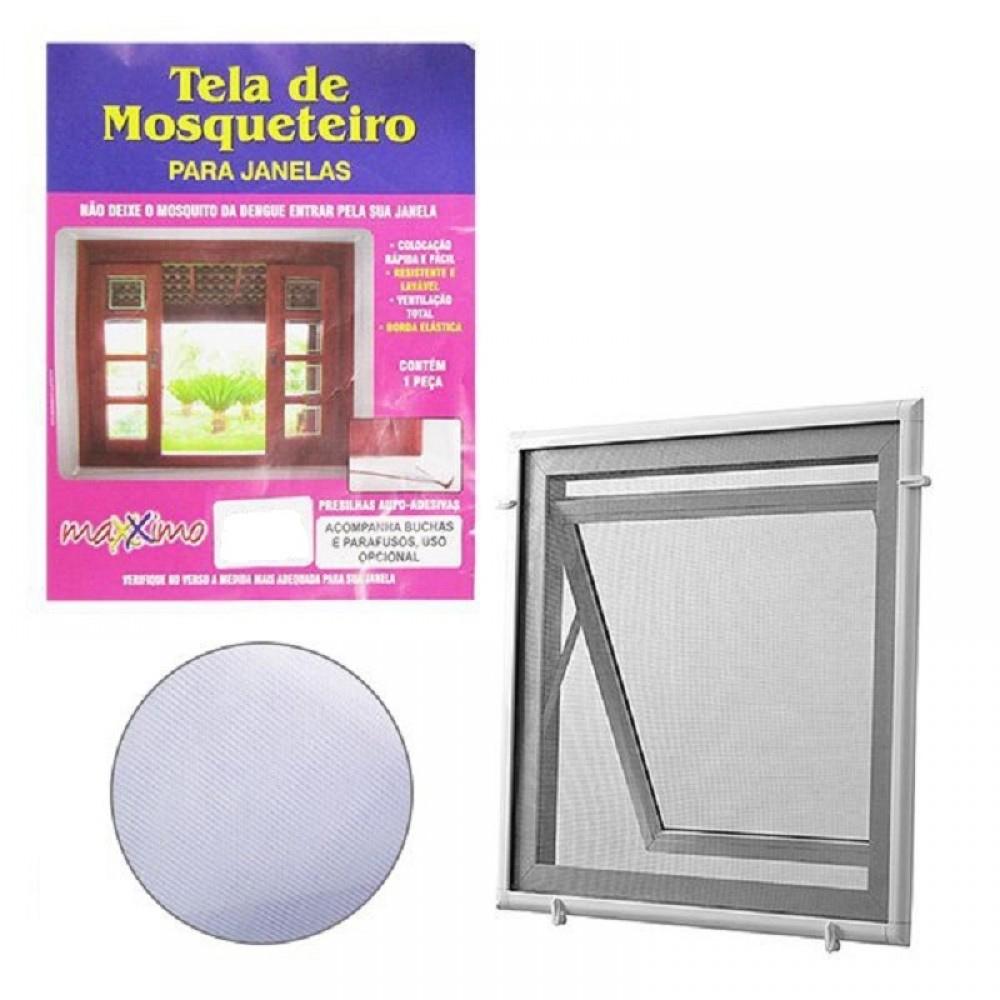 Tela Mosquiteira 2,00x1,20 Janela Anti Insetos Mosquito