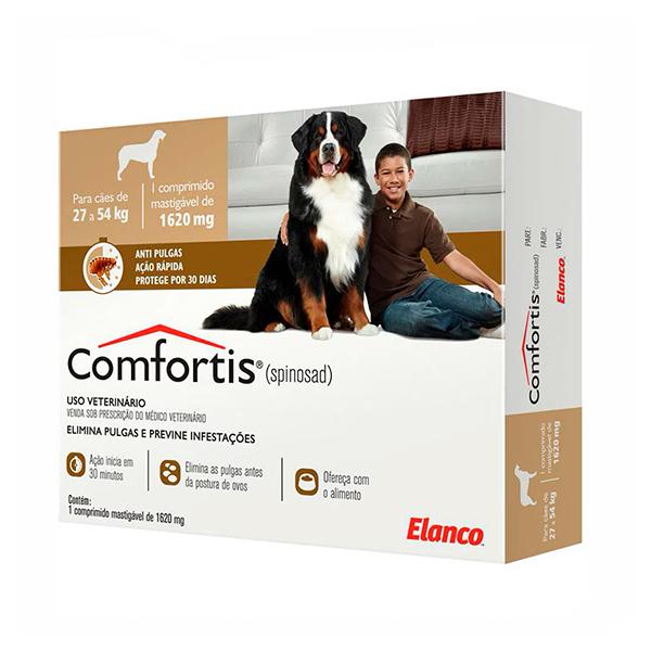 Antipulgas Elanco Comfortis 1620mg para Cães de 27 à 54Kg