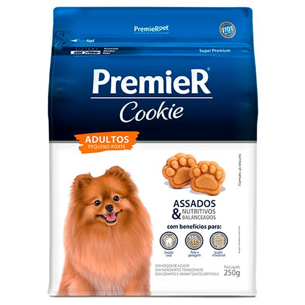 Biscoito Premier Cookie Cães Adultos Pequeno Porte 250g