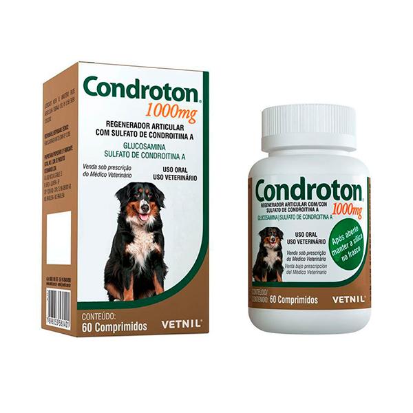 Condroton Vetnil 1000mg -  C/ 60 Comprimidos