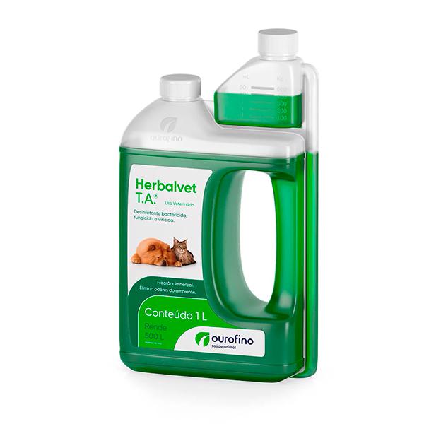 Desinfetante Bactericida Ourofino Herbalvet T.A