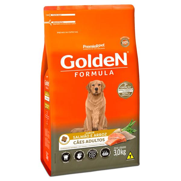 Ração Golden Formula Cães Adultos Salmão