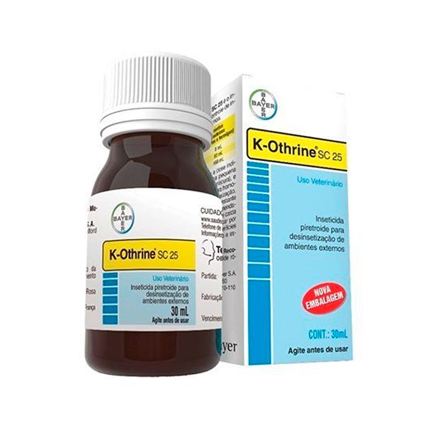 Inseticida Bayer K-Othrine SC 25 30ml