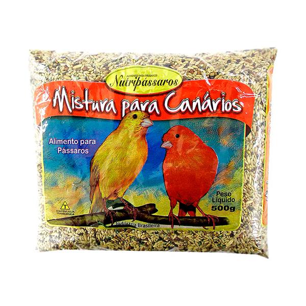 Mistura para Canário com Mel Nutripássaros 500g
