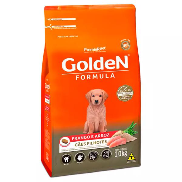 Ração Golden Formula para Cães Filhotes Sabor Frango e Arroz