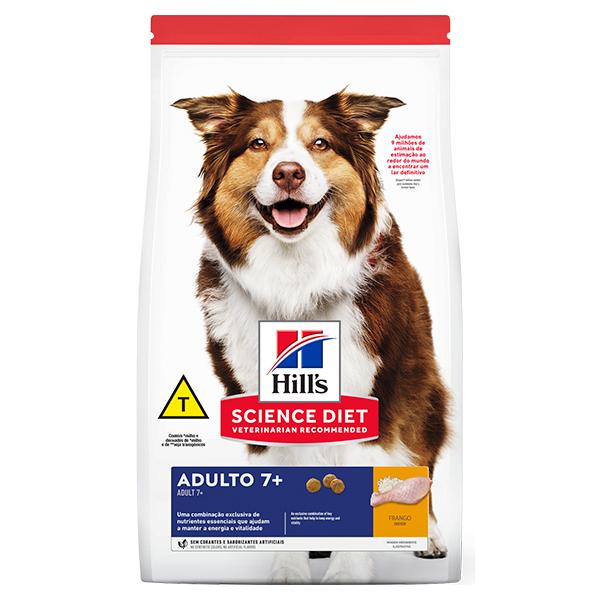 Ração Hill's para Cães Adultos 7+ a partir de 7 anos de idade 6Kg