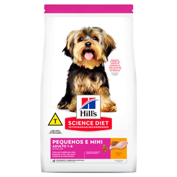 Ração Hill's para Cães Adultos de Porte Pequeno e Miniatura