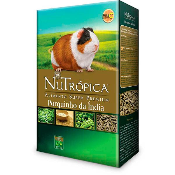 Ração Nutrópica Natural para Porquinho da Índia