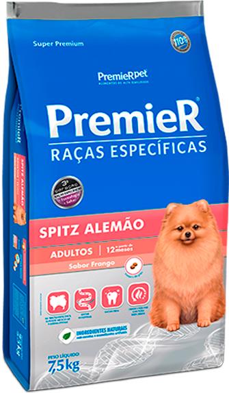 Ração Premier para Cães Adultos de Raças Específicas - Spitz Alemão