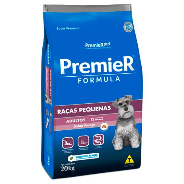 Ração Premier Formula Cães Adultos Porte Pequeno