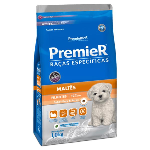 Ração Premier Raças Específicas Maltês Cães Filhotes