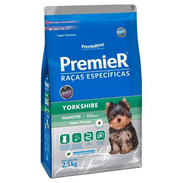 Ração Premier Raças Específicas Yorkshire Cães Filhotes
