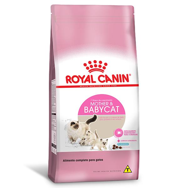Ração Royal Canin Feline Mother & Baby para Gatos Filhotes de 1 à 4 meses de idade