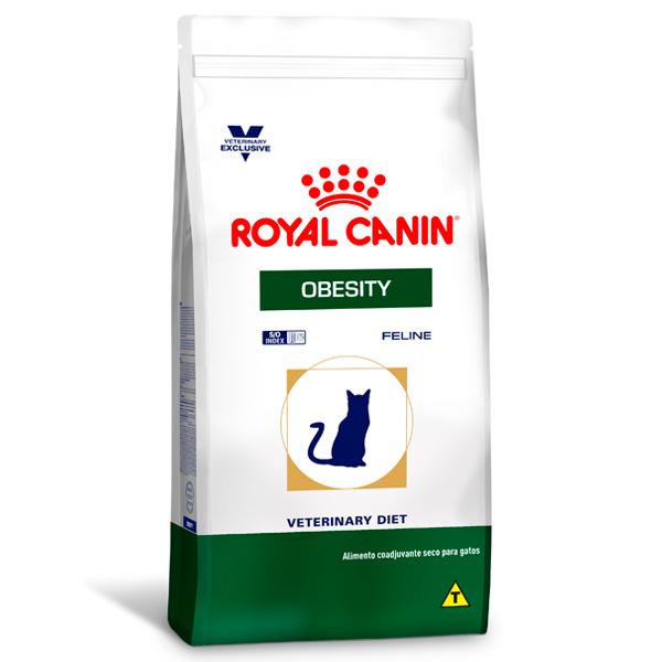 Ração Royal Canin Feline Veterinary Nutrition Obesity para Gatos Obesos