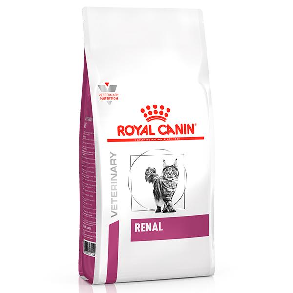 Ração Royal Canin Feline Veterinary Nutrition Renal para Gatos com Doenças Renais