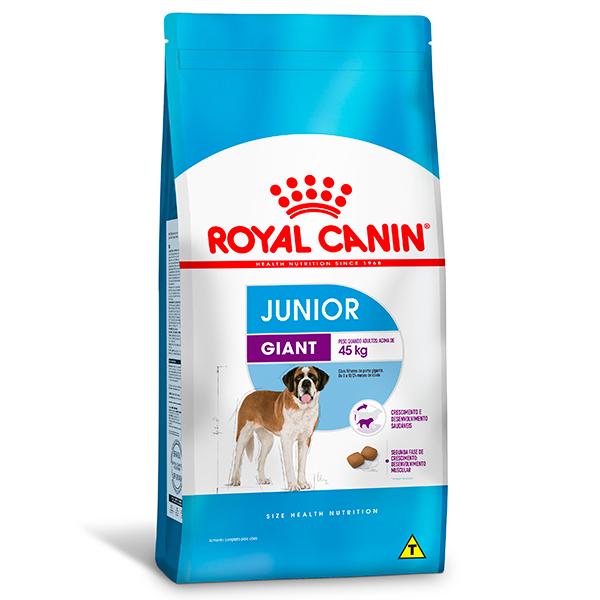 Ração Royal Canin Giant Junior para Cães Filhotes de Raças Gigantes de 8 a 18 meses de idade 15Kg