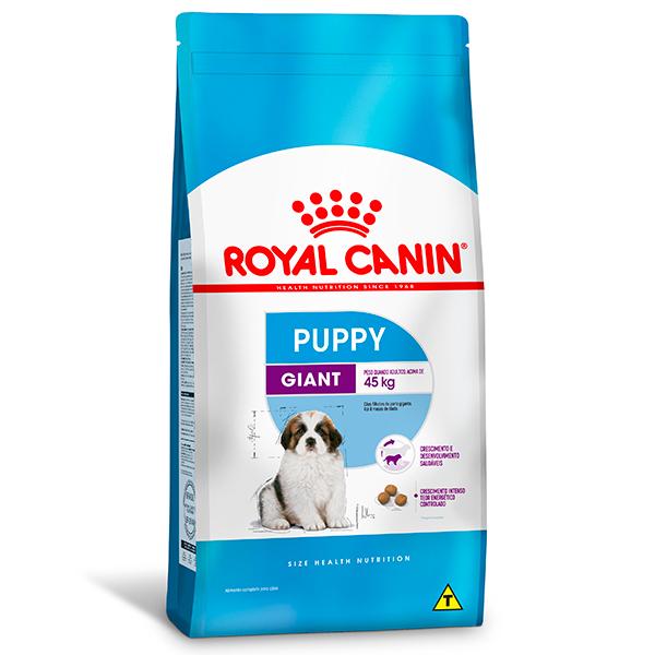 Ração Royal Canin Giant Puppy para Cães Filhotes de Raças Gigantes de 2 a 8 meses de idade 15Kg
