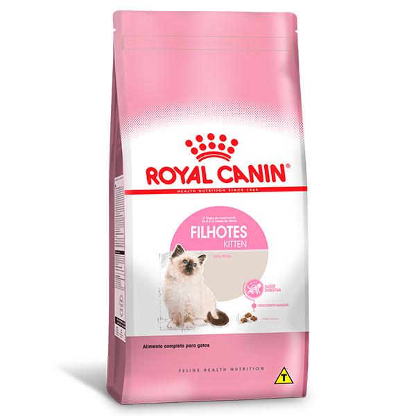 Ração Royal Canin Kitten para Gatos Filhotes com até 12 meses de Idade