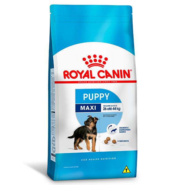 Ração Royal Canin Maxi Puppy para Cães Filhotes de Raças Grandes de 2 a 15 meses de idade 15Kg