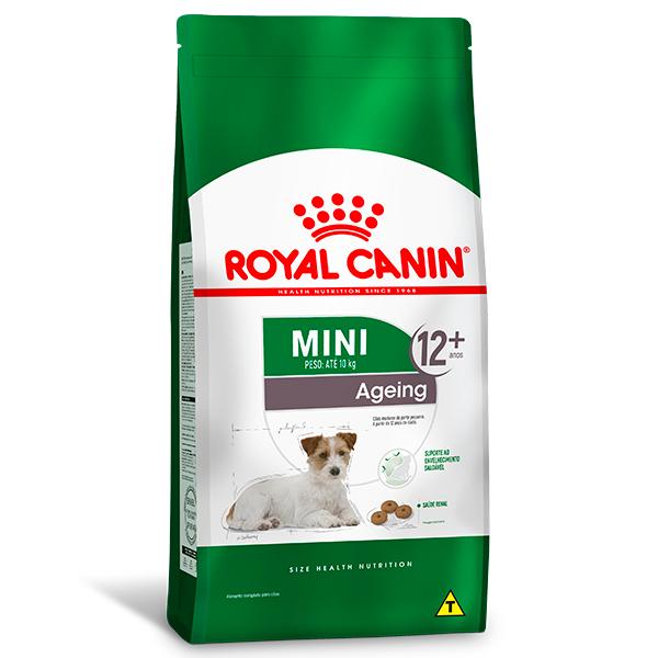 Ração Royal Canin Mini Ageing 12+ para Cães Idosos de Raças Pequenas com 12 anos ou mais de idade