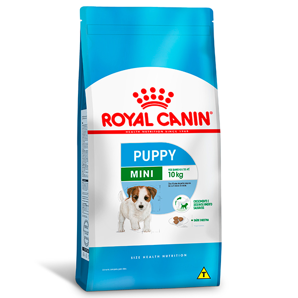 Ração Royal Canin Mini Puppy para Cães Filhotes de Raças Pequenas de 2 a 10 meses de idade