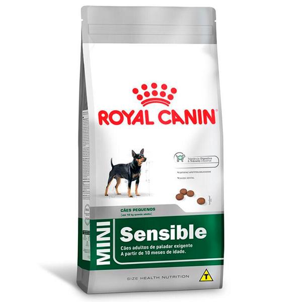 Ração Royal Canin Mini Sensible para Cães Adultos de Raças Pequenas com Paladar Sensível
