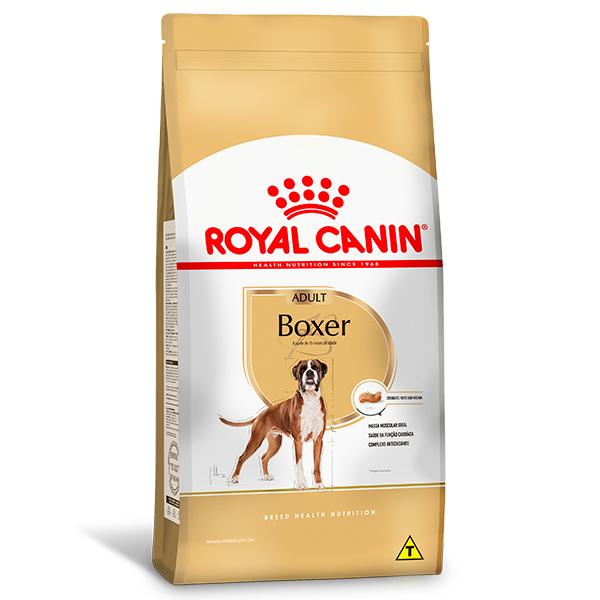 Ração Royal Canin para Cães Adultos da Raça Boxer 12Kg