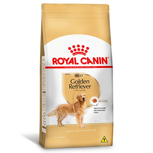 Ração Royal Canin para Cães Adultos da Raça Golden Retriever 12Kg