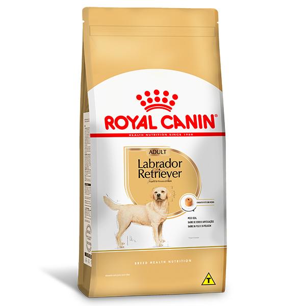 Ração Royal Canin para Cães Adultos da Raça Labrador Retriever 12Kg