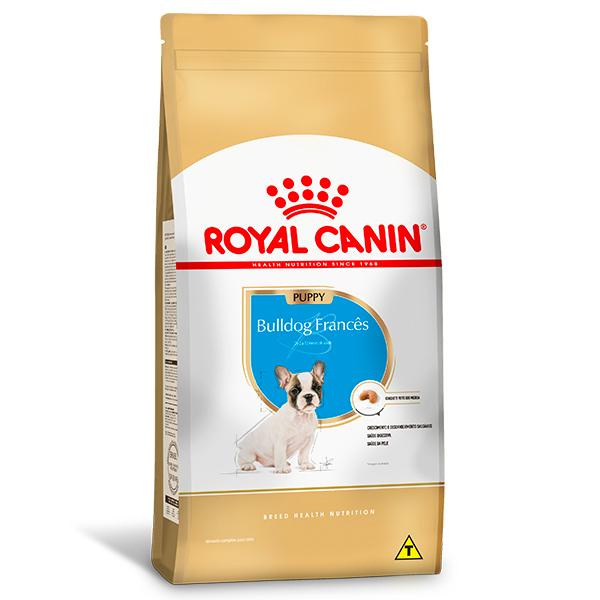 Ração Royal Canin Puppy para Cães Filhotes da Raça Bulldog Francês